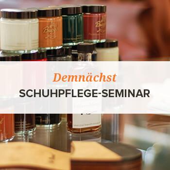 Schuhpflege-Seminar
