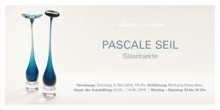 Einladungskarte Glasobjekte von Pascale Seil