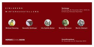 Einladungskarte Winterausstellung