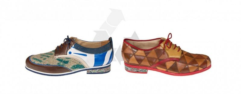 Upcycling-Schuhe