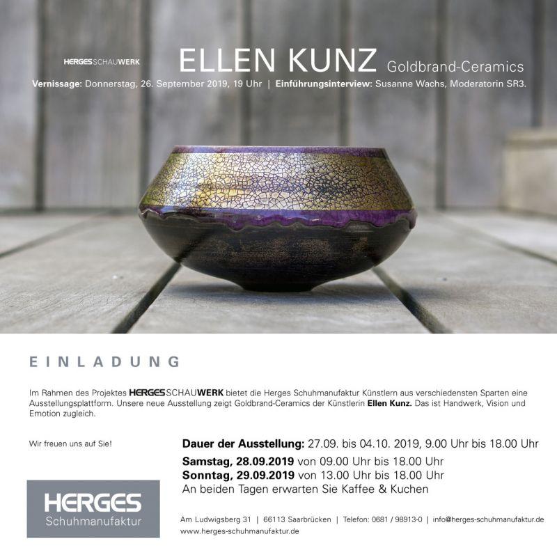 Vernissage Keramik-Kunst Ellen Kunz