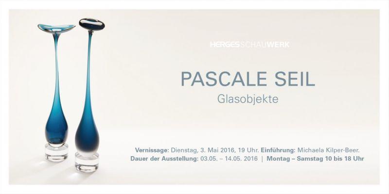 Glasobjekte von Pascale Seil